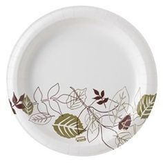 Dixie 8.5in extra heavy paper plates - shop and save at http://www.roundeyesupply.com/Dixie-8-5-in-Ultra-Heavy-Paper-Plates-Pathways-p/dixsxp9path.htm