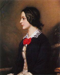 1850 Maria Dietsch by Joseph Karl Stieler (Schönheitengallerie Schloß Nymphenburg, München Germany)