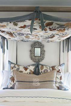 Beautiful Blue Bedrooms: Neutral Cream Bedroom