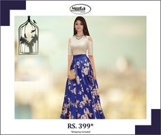 Celebrate this Republic Day by updating your wardrobe. Buy from Muta fashion at affordable prices. Silk Gown, Secondary Color, Shop Now, Gowns, Popular, Stitch, Website, Celebrities, Casual