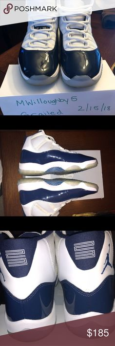 3686809900c9 Nike Air Jordan Retro 11 Win Like 82 Midnight Navy Excellent condition  sneakers with box One