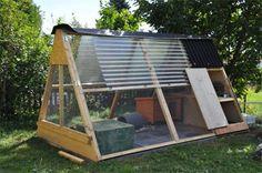 Construction d'un habitat extérieur permanent pour lapin - Marguerite et Cie.