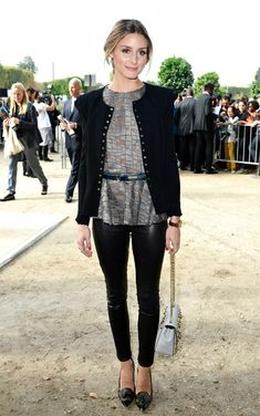 Celebrity Style:  What They Wore - Paris Fashion Week 2013