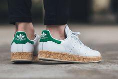 "adidas Originals Stan Smith Luxe ""Cork"" White/Green"