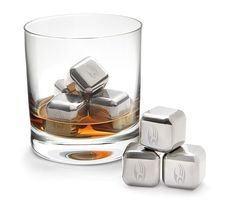 The Borg Metal Ice Cube Chills Your Drink in Style #summer #poolparty trendhunter.com