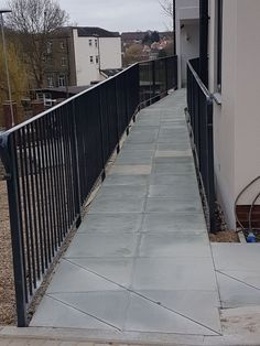 Railings and balustrades for both residential and commercial projects, including fire exit staircases. Residential Security, Railings, Surrey, Sidewalk, Fire, Floating Stairs, Saree, Pavement, Curb Appeal