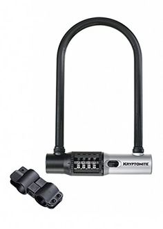 Bike U-Locks - Kryptonite Kryptolok Combo Standard Bicycle ULock -- Click image to review more details.