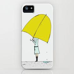 Umbrella Girl iPhone 5c case