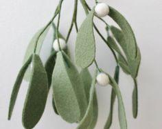Felt mistletoe More