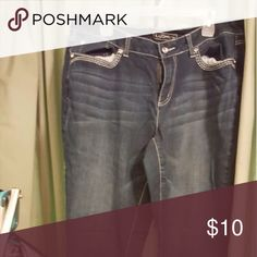Jeans Cute jeans with detail on back pockets Cato Jeans Straight Leg