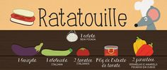 RECEITA-ILUSTRADA 146: Ratatouille: mixidao.com.br/receita-ilustrada-146-ratatouille/