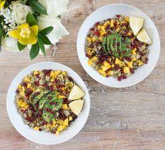 Mango and Sesame Quinoa