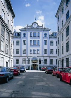 Hotel Kong Arthur -- where Laney and Mads's affair commences.   (Maybe Baby by Kim Golden)