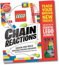 LEGO Chain Reactions by Klutz - $19.95