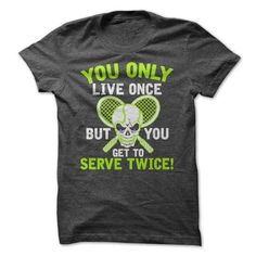 SERVE TWICE T Shirts, Hoodies. Get it here ==► https://www.sunfrog.com/Fitness/SERVE-TWICE.html?57074 $19.99
