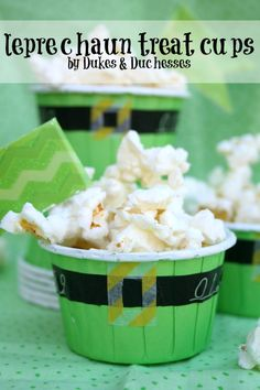 leprechaun treat cup