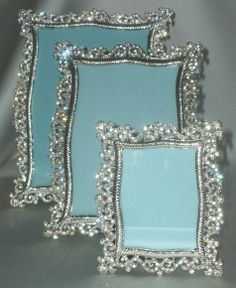 rhinestone frame 5x7 arabesque crystal rhinestone silver picture frame 4 x 6