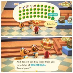 When hoarding your shells pays off big - ac_newhorizons Animal Crossing Funny, Animal Crossing Wild World, Animal Crossing Guide, Animal Crossing Qr Codes Clothes, Ac New Leaf, My Animal, Custom Design, Pokemon, Funny Memes