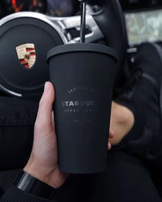 This is a premium listing from slay billionaire. Options include either a matte black custom Starbucks coffee cup or bling Starbucks slay Billionaire coffee cup Low Carb Fast Food, Copo Starbucks, Starbucks Tumbler, Starbucks Drinks, Black Luxury, All Black Everything, White Aesthetic, Brand It, Black Love