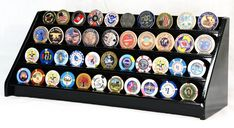 40 Challenge Coin Coins 4 Row Casino Chip Display Case Holder Rack Case Stand | Home & Garden, Home Décor, Shadow Boxes | eBay!