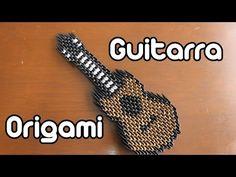 Guitarra De Origami / Guitar Origami TUTORIAL! - YouTube