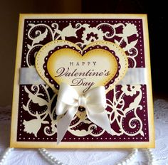 Handmade Card   Happy Valentine's Day NEW 2014 Design by llenusik, $8.49
