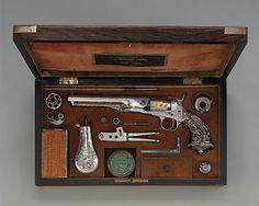Colt Model 1862 Police Revolver with Thuer Conversion Samuel Colt
