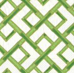 Our bamboo green beverage napkins feature a white background with bright green bamboo designs throughout. They are only $4.95 from Parties2order and are also available in lunch napkins and guest towels!