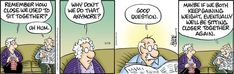 Pickles for 5/19/2021 Older Couples, Together Again, Comic Strips, Crane, Pickles, Humor, This Or That Questions, Comics, Comic Books