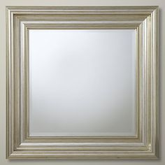 Buy John Lewis Wellington Mirror Online at johnlewis.com. This one can be made in various sizes!!