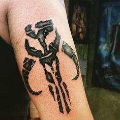 mandalorian tattoo | Star Wars Bounty Hunter Logo Tattoo | www.imgarcade.com - Online Image ...