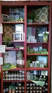 St. Patrick's Day Display February-March 2015. Riverton, Utah location.