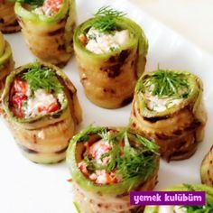 Resimli Afilli Kabak Kanepe Tarifi … – Pratik yemekler – Las recetas más prácticas y fáciles Turkish Recipes, Ethnic Recipes, Wie Macht Man, Iftar, Snacks, Pumpkin Recipes, Catering, Food And Drink, Dessert Recipes