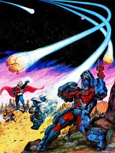 Masters Of The Universe - 15 (painting by Earl Norem) by Aeron Alfrey, via Flickr