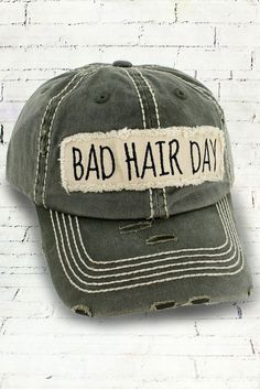 e1125bfbac2 Cute baseball cap for women and teens. Distressed and casual