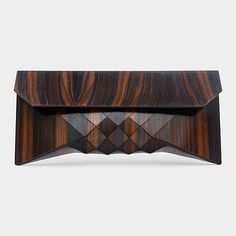 Tessellated Wood Clutch | MoMAstore.org