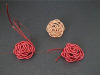 Beadalon Blog: Making an Adjustable Wire Rose Ring