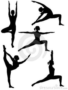 Yoga Silhouette 2 - Download From Over 30 Million High Quality Stock Photos, Images, Vectors. Sign up for FREE today. Image: 8139299