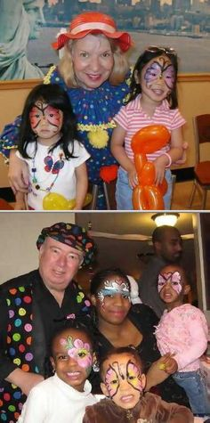 Party With Marty & Iris has been providing children's party entertainment since 1993. They provide face painters, temporary tattoo artists, caricature artists, balloon sculptors, and more.