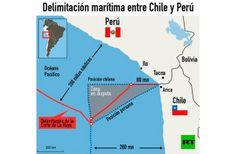 LA CORTE DE LA HAYA DECRETA UNA NUEVA FRONTERA MARÍTIMA ENTRE CHILE Y PERÚ