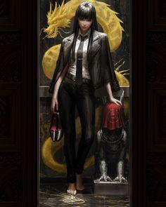 Fantasy Character Design, Character Inspiration, Character Art, Cool Anime Girl, Anime Art Girl, Fantasy Characters, Female Characters, Girls Characters, Samurai Art