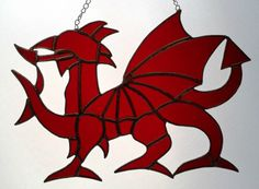 stained glass welsh daffodil - Google Search Welsh Dragon, Glass Design, Daffodils, Stained Glass, Projects To Try, Arts And Crafts, Dragons, Farmhouse, Inspiration