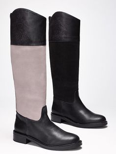 Crested Riding Boot - VS Collection - Victoria's Secret