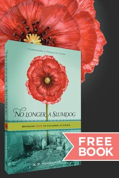Sign up for a FREE copy of No Longer a Slumdog. Shipping is free, too!