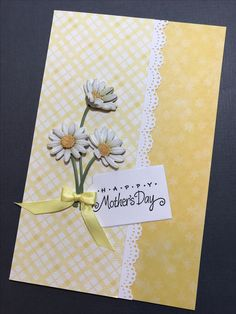 Handmade Mother's Day card by Cara Steed