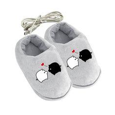 Vente de Chaussons USB Pantoufle chauffante pour garder les pieds au c – shop le vite !