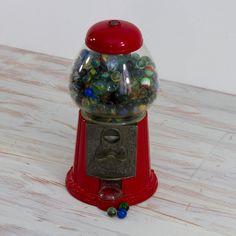 Vintage Carousel Gumball Machine. $20.00, via Etsy.