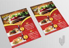 Design model flyere fast-food. DESIGN // PRINT by Creative IT Media Food Design, Design Model, Creative