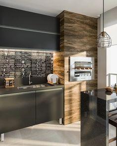 Leroy Merlin, Bbq Grill, Studio Apartment, Sweet Home, Interior Design, Architecture, Kitchen, House, Inspiration