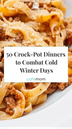 50 Crock-Pot Dinner Recipes to Combat Cold Winter Days Via: timages/Shutterstock - Quick and Easy Family Meals - Slow Cooker Pressure Cooker, Crock Pot Slow Cooker, Slow Cooker Recipes, Crockpot Recipes, Cooking Recipes, Healthy Recipes, Quick Recipes, Free Recipes, Keto Recipes